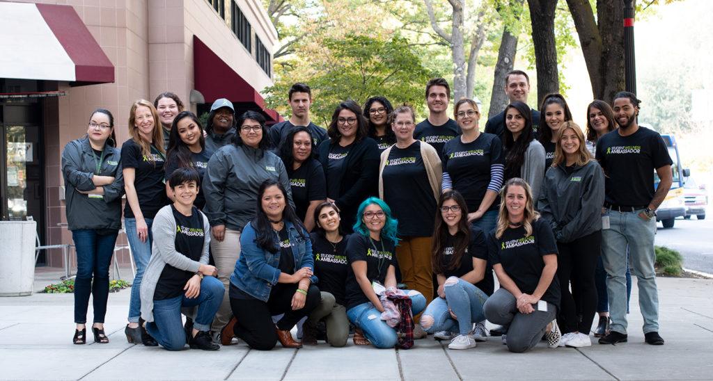 Student Ambassadors Group Photo