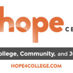 The Hope Center logo (tagline: For College, Community, and Justice)