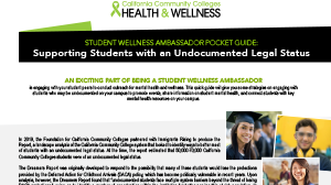 Cover page of Supporting Students with an Undocumented Legal Status Publication